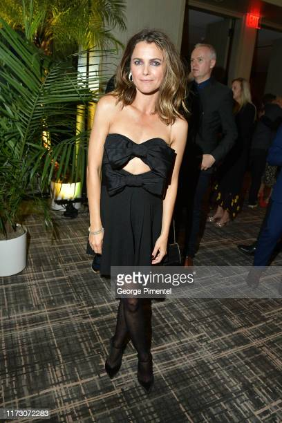 Keri Russell attends The Hollywood Foreign Press Association and The Hollywood Reporter party at the 2019 Toronto International Film Festival at Four...