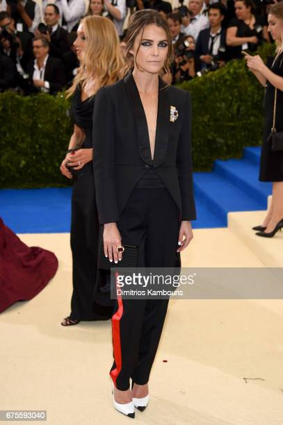 Keri Russell attends the 'Rei Kawakubo/Comme des Garcons Art Of The InBetween' Costume Institute Gala at Metropolitan Museum of Art on May 1 2017 in...