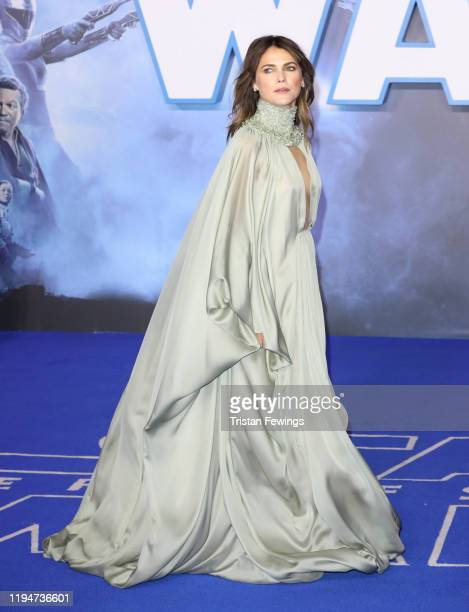 Keri Russell attends the Star Wars The Rise of Skywalker European Premiere at Cineworld Leicester Square on December 18 2019 in London England