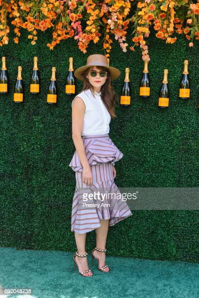 Keri Russell attends The Tenth Annual Veuve Clicquot Polo Classic - Arrivals at Liberty State Park on June 3, 2017 in Jersey City, New Jersey.