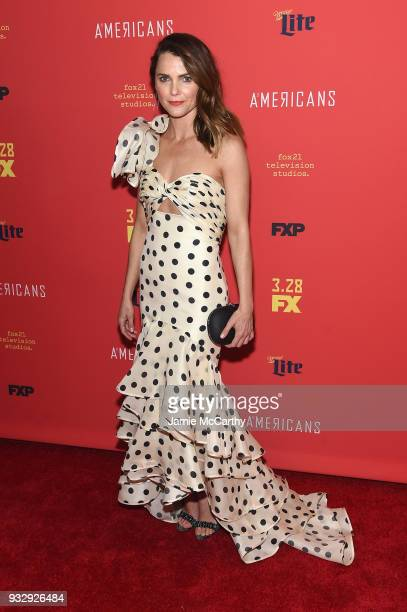 Keri Russell attends the The Americans Season 6 Premiere at Alice Tully Hall Lincoln Center on March 16 2018 in New York City