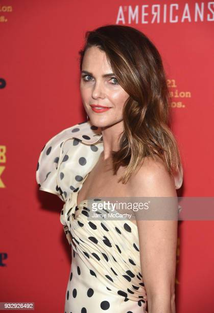 Keri Russell attends the 'The Americans' Season 6 Premiere at Alice Tully Hall Lincoln Center on March 16 2018 in New York City