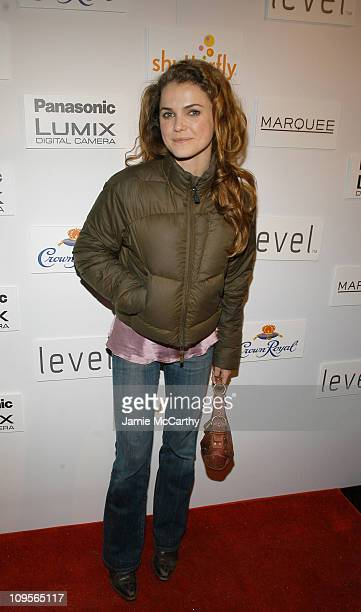 Keri Russell during 2005 Park City Marquee Opening Night Party at Buddha Bar at Harry O's in Park City Utah United States