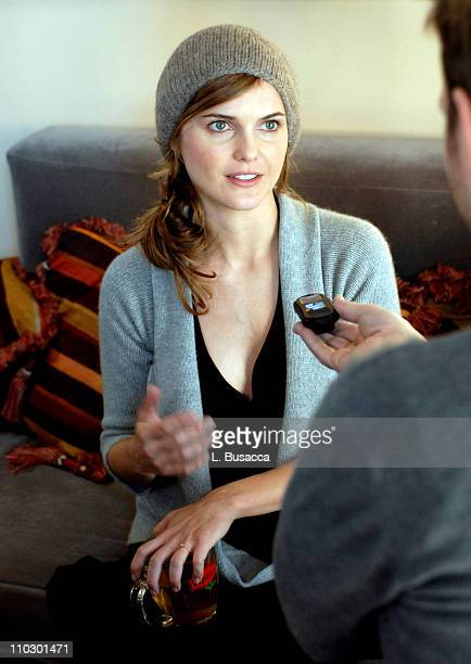 Keri Russell during 2007 Park City Hollywood Life House Day 5 at Hollywood Life House in Park City Utah United States