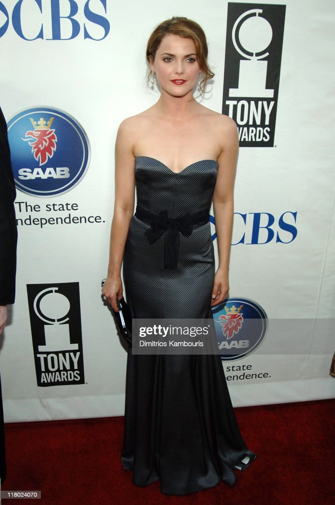 Keri Russell during 59th Annual Tony Awards - Red Carpet at Radio City Music Hall in New York City, New York, United States.