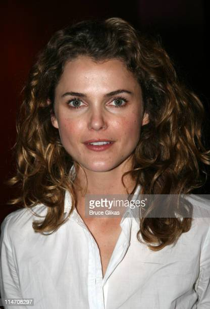 """Keri Russell during Keri Russell Visits Former Mouseketeer Pal Lindsey Alley at her Show """"Look Ma...no Ears"""" Off-Broadway - May 21, 2006 at The..."""
