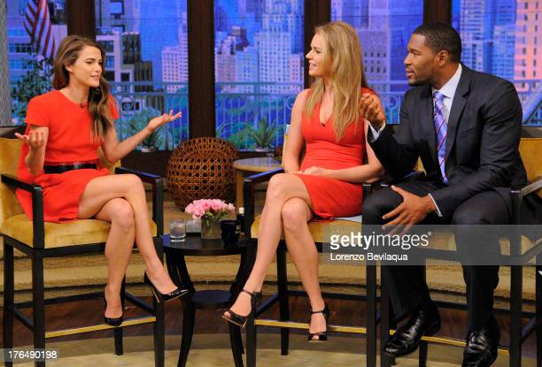 MICHAEL 8/13/13 Keri Russell is a guest on LIVE with Kelly and Michael distributed by DisneyWalt Disney Television via Getty Images Domestic...