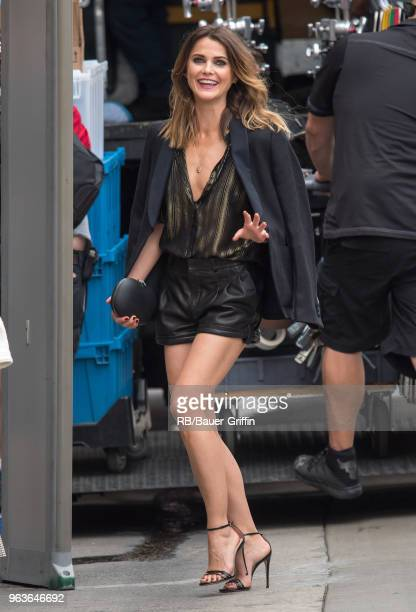 Keri Russell is seen at 'Jimmy Kimmel Live' on May 29 2018 in Los Angeles California
