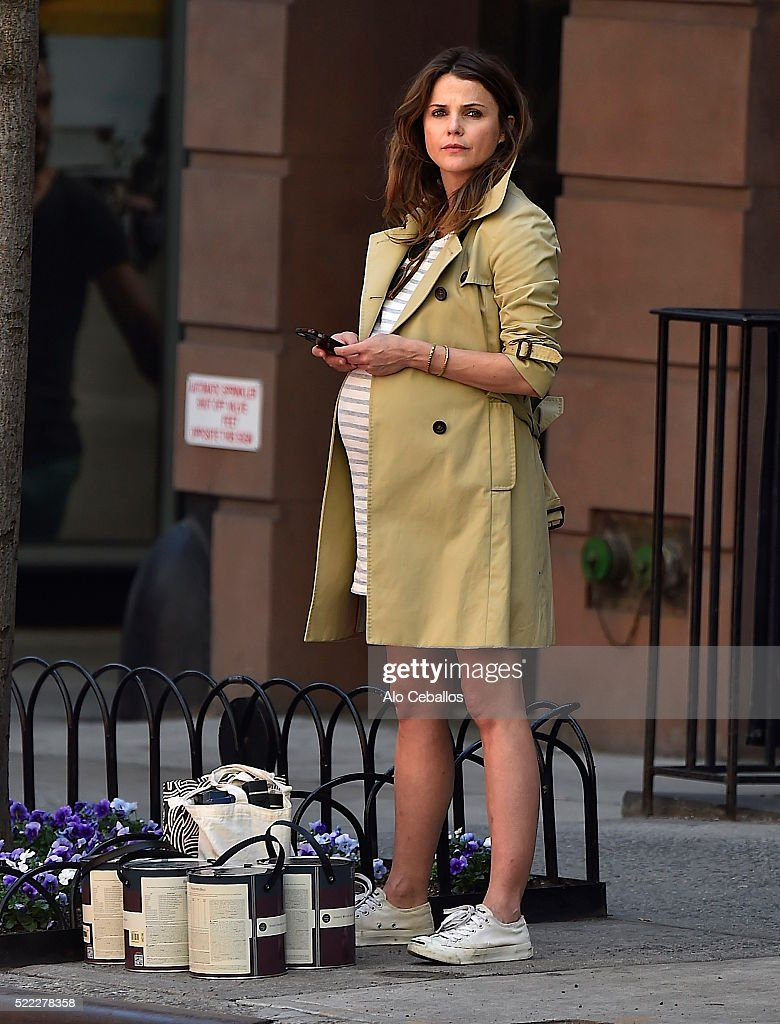 Celebrity Sightings in New York City - April 18, 2016