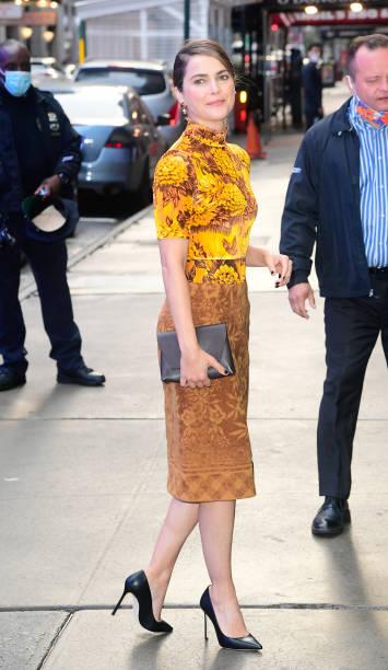 NY: Celebrity Sightings In New York City - October 25, 2021