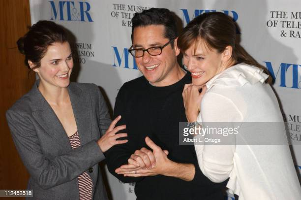 Keri Russell, J.J. Abrams and Jennifer Garner during The Museum of Television & Radio Presents The 21st Annual William S. Paley Television Festival...