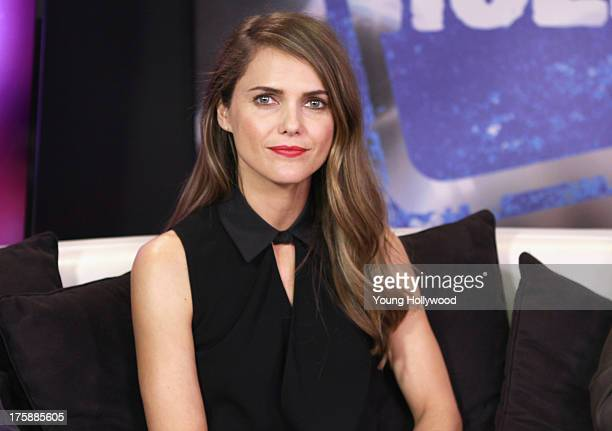 Keri Russell visits the Young Hollywood Studio on August 9, 2013 in Los Angeles, California.