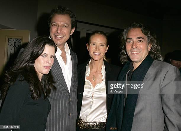 Keri Selig Jeff Goldblum Kelly Lynch and Mitch Glazer