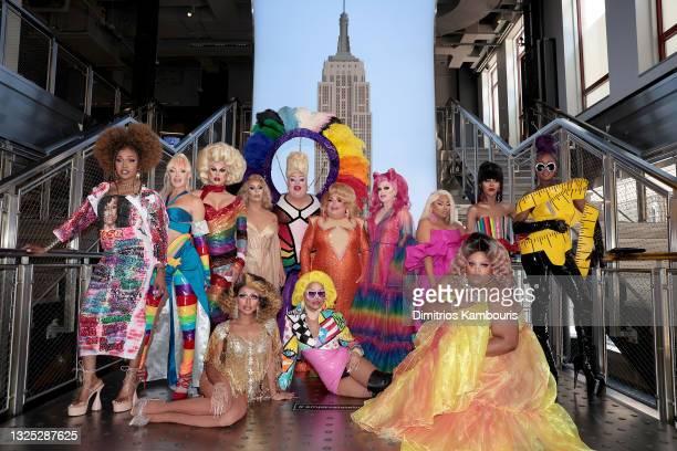 Keria C. Davenport, Kylie Sonique Love, Scarlet Envy, Jan, Eureka!, Ginger Minj, Pandora Boxx, Jiggly Caliente, Trinity K. Bonet, Ra'Jah O'Hara,...