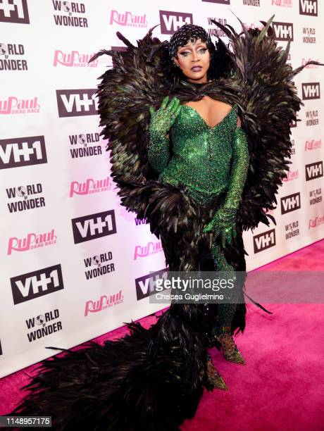 A'keria Chanel Davenport attends the RuPaul's Drag Race Season 11 Finale Taping at Orpheum Theatre on May 13 2019 in Los Angeles California