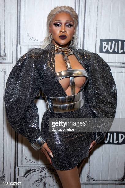 A' Keria Chanel Davenport of the cast of 'RuPaul's Drag Race Season 11' visits Build Studio on February 20 2019 in New York City