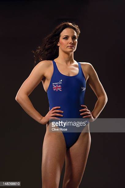 KeriAnne Payne of the British Gas British Swimming team poses for a portrait during a British Gas photo shoot on January 19 2012 in Manchester United...