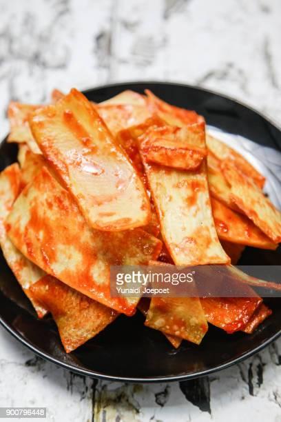 Keripik Sanjai Famous Chips from Padang Minangkabaru