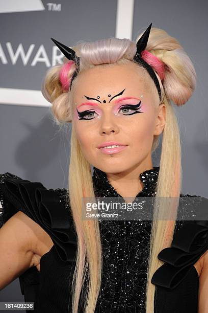 Kerli attends the 55th Annual GRAMMY Awards at STAPLES Center on February 10, 2013 in Los Angeles, California.