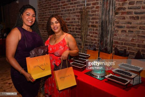 Kerllla Vorrilla and Crisoire Reid of Spagnvola Chocolatier are seen at Jamie Foster Brown's Sister2Sister DC Launch and MsGrandiosity's birthday...