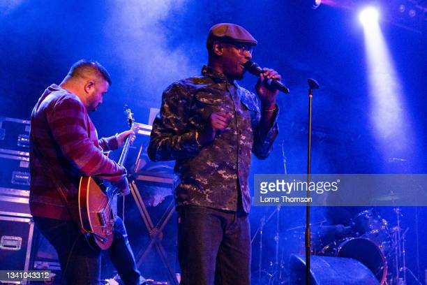 Kermit of Black Grape performs at O2 Academy Islington on September 17, 2021 in London, England.