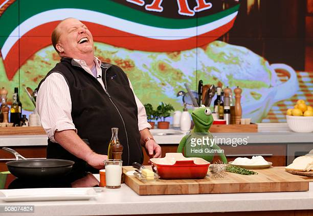 THE CHEW Kermit the Frog appears on The Chew today Tuesday February 2 2016 THE CHEW airs MONDAY FRIDAY on the Walt Disney Television via Getty Images...