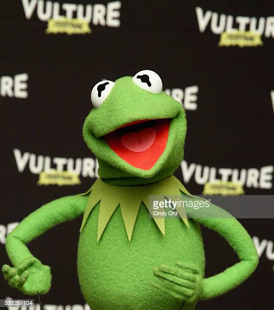 Kermit the Frog attends the Vulture Festival at Milk Studios on May 21 2016 in New York City