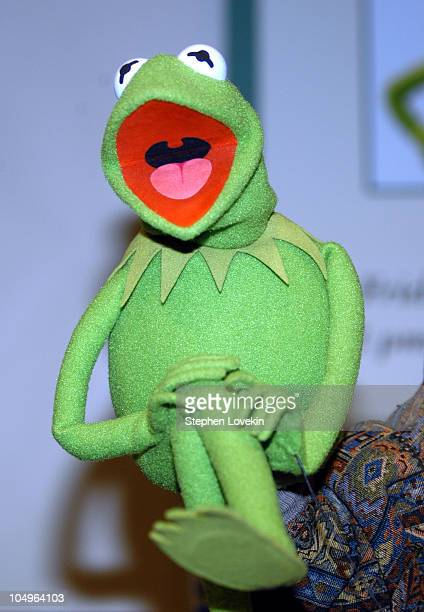 Kermit The Frog during Kermit The Frog InStore Appearance at Barnes and Noble at Barnes and Noble Union Square in New York City NY United States
