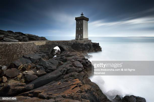 Kermorvan Lighthouse in Brittany
