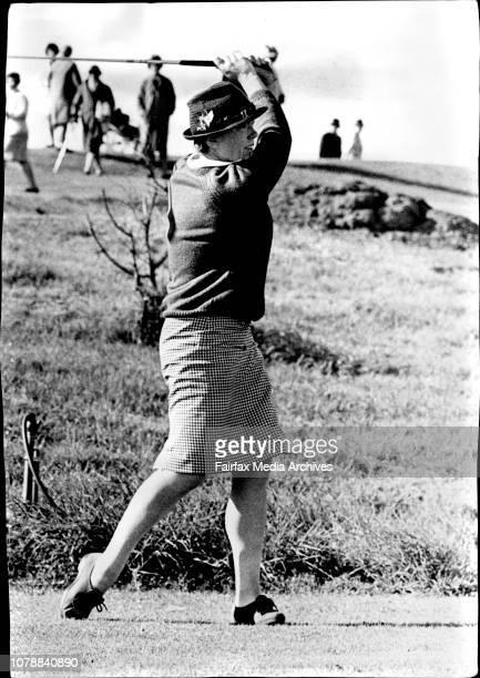H Kerr 14th tee NSW Women's Golf championship at Bonnie Doon Heather Kerr one of Sydney's most versatile sportswomen had her finest hour this week...