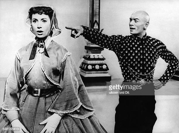 Kerr Deborah Actress Great Britain * Scene from the movie 'The King and I'' with Yul Brunner Directed by Walter Lang USA 1956 Produced by Twentieth...