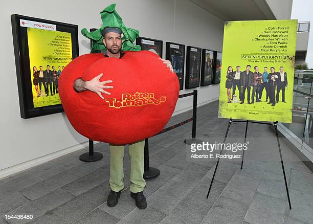 "Kerr Lordygan poses during a CBS Films holds a special screening of ""Seven Psychopaths"" celebrating the Certified Fresh Rating from..."