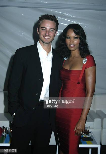 Kerr Smith and Garcelle Beauvais Nilon during The 56th Annual Primetime Emmy Awards TV Guide After Party at TV Guide Central in West Hollywood...