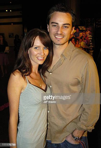 Kerr Smith and wife Harmoni Everett during HBO Films' Lackawanna Blues Premiere Red Carpet at DGA in Los Angeles California United States