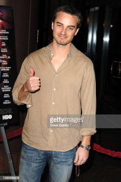 Kerr Smith during Lackawanna Blues Los Angeles Premiere Arrivals at Director's Guild of America in Los Angeles California United States