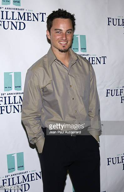 Kerr Smith during The Fulfillment Fund honoring the Creative Artists Agency Foundation and the Billy Blanks Foundation at the 16th Achievement Awards...