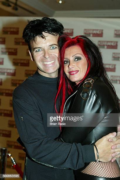 Kerrang Awards Hilton Hotel London Britain 27 Aug 2002 Gary Numan With Wife Gemma