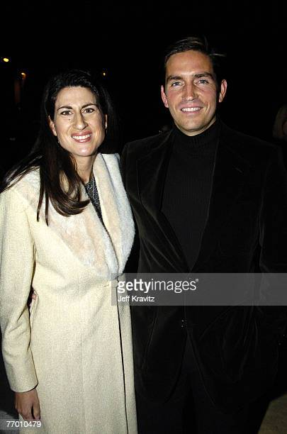 Kerri Browitt and husband James Caviezel