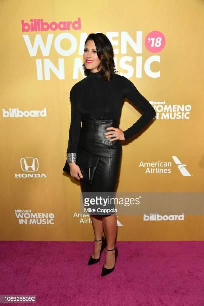 Kerri Edwards attends Billboard Women In Music 2018 on December 6 2018 in New York City