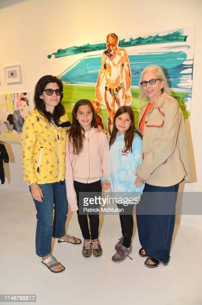Kerri Fersel Sadie Bennett Lucy Bennett and Eileen O'Kane Kornreich attend Go Figure Curated By Beth Rudin DeWoody at Eric Firestone Gallery on May...