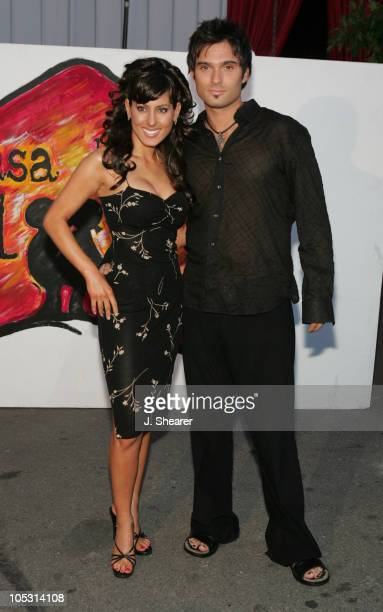 Kerri Kasem and Diego Varas during 2nd Annual Night with the Friends of El Faro Fundraiser at Santa Monica Airport in Santa Monica, California,...