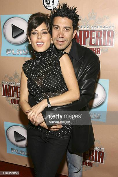 Kerri Kasem and Gianni Capaldi during Grand Opening of Club Play at Club Play in Hollywood, California, United States.