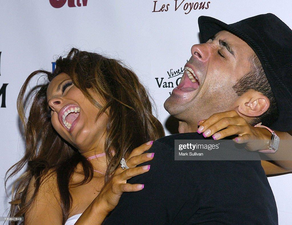 Kerri Kasem and Mike Kasem during Kerri Kasem Birthday Party at Brasserie Les Voyous in Hollywood, California, United States.