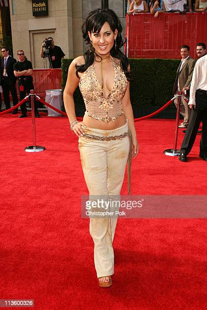 Kerri Kasem during 2003 ESPY Awards - Arrivals at Kodak Theatre in Hollywood, California, United States.