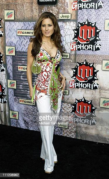 Kerri Kasem during GPhoria 2005 The Mother of All Videogame Award Shows Arrivals at Los Angeles Center Studios in Los Angeles California United States