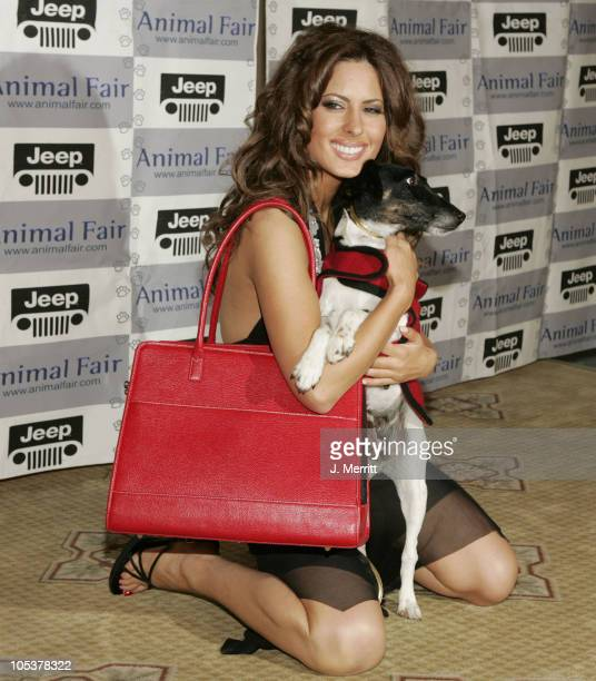 Kerri Kasem during The Jeep Yappy Hour And Febreze Pet Fashion Show sponsored by GW Little at Century Plaza Hotel in Century City, California, United...