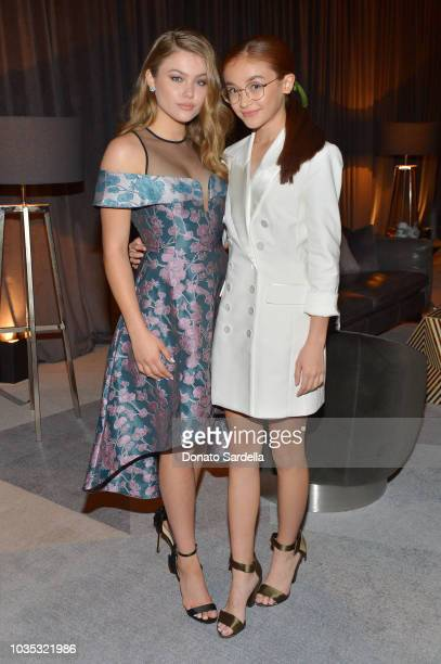 Kerri Medders and Anna Cathcart attend the 2018 Netflix Primetime Emmys After Party at NeueHouse Hollywood on September 17 2018 in Los Angeles...