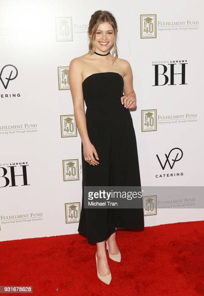 Kerri Medders attends A Legacy of Changing Lives presented by The Fulfillment Fund held at The Ray Dolby Ballroom at Hollywood Highland Center on...