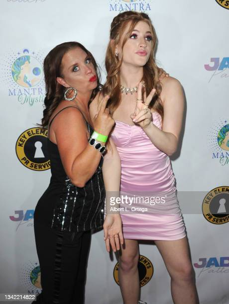 Kerri Pomarolli and Jade Patteri attend the EP Release Party for Jade Patteri held at The Federal NoHo on September 21, 2021 in North Hollywood,...
