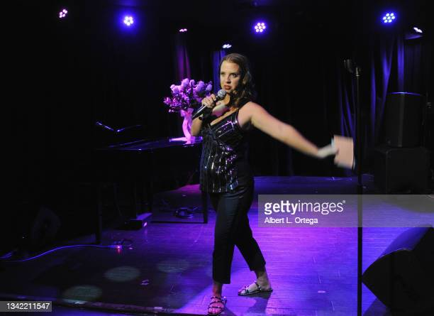 Kerri Pomarolli attends the EP Release Party for Jade Patteri held at The Federal NoHo on September 21, 2021 in North Hollywood, California.